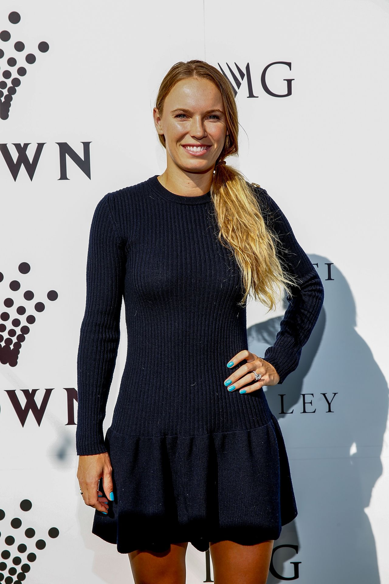 Caroline Wozniacki – Crown IMG Tennis Party in Melbourne 01/13/2019