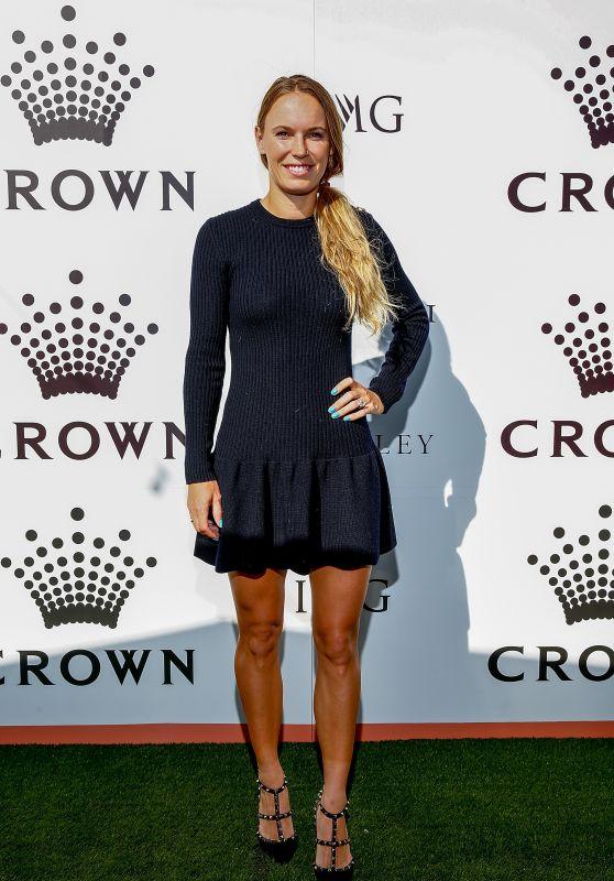 Caroline Wozniacki – Crown IMG Tennis Party in Melbourne 01/13/2019