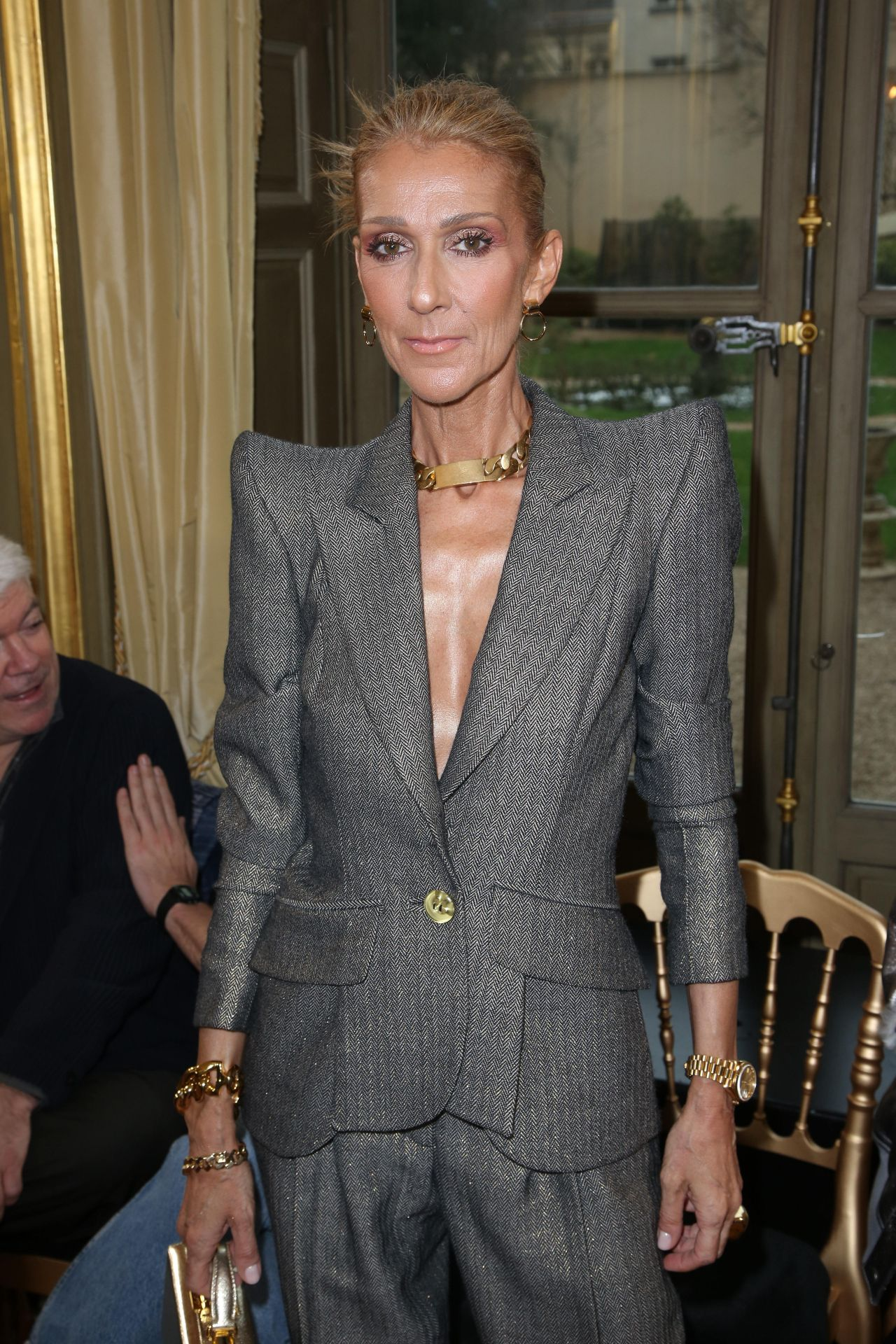 Celine Dion Ronald Van Der Kemp Show In Paris 01232019