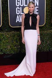 Charlize Theron – 2019 Golden Globe Awards Red Carpet