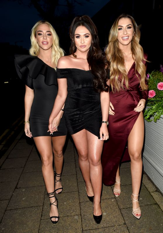 Charlotte Dawson, Taylor Ward and Darby Ward Night Out - Cheshire 01/14/2019