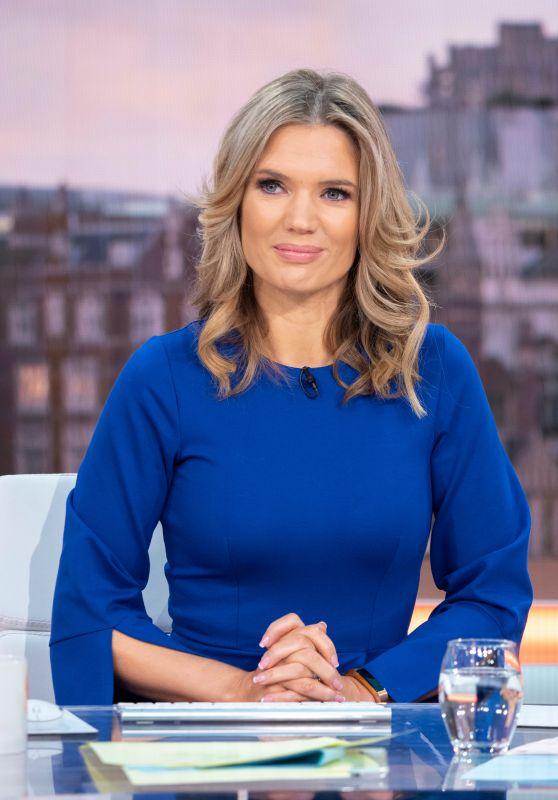 Charlotte Hawkins - Good Morning Britain TV Show 01/21/2019