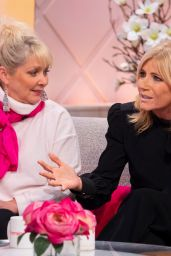 Cheryl Baker and Michelle Collins – Lorraine TV Show in London 01/04/2019