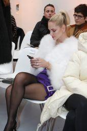 Chiara Ferragni - Alexandre Vauthier Fashion Show in Paris 01/23/2019