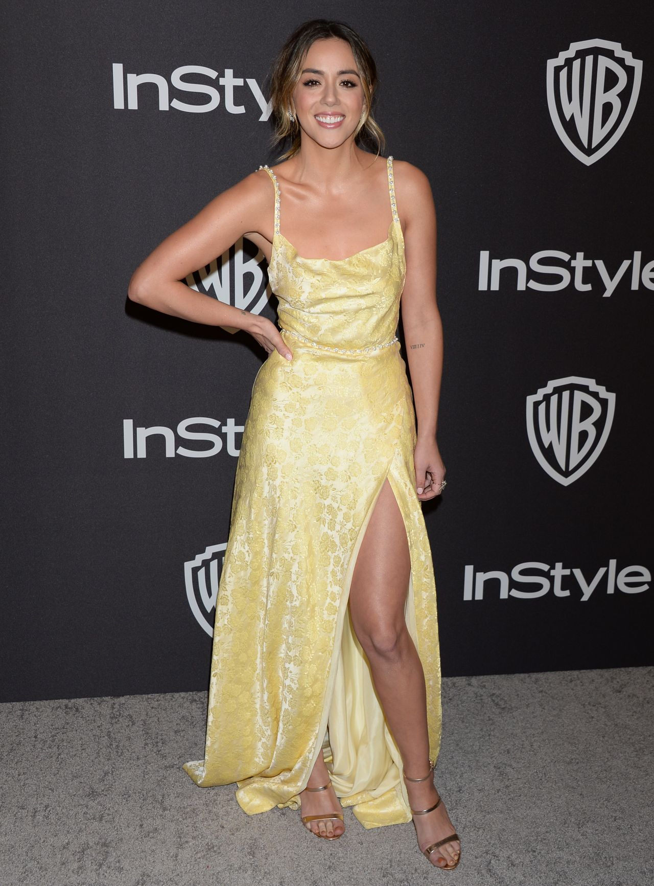 Chloe Bennet – InStyle and Warner Bros Golden Globes 2019 After Party