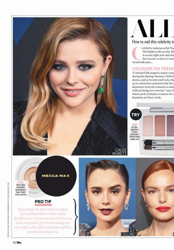 Chloe Moretz and Emma Stone - Who Magazine 02/11/2019