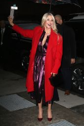 Christie Brinkley - Outside BUILD Series in NYC 01/29/2019