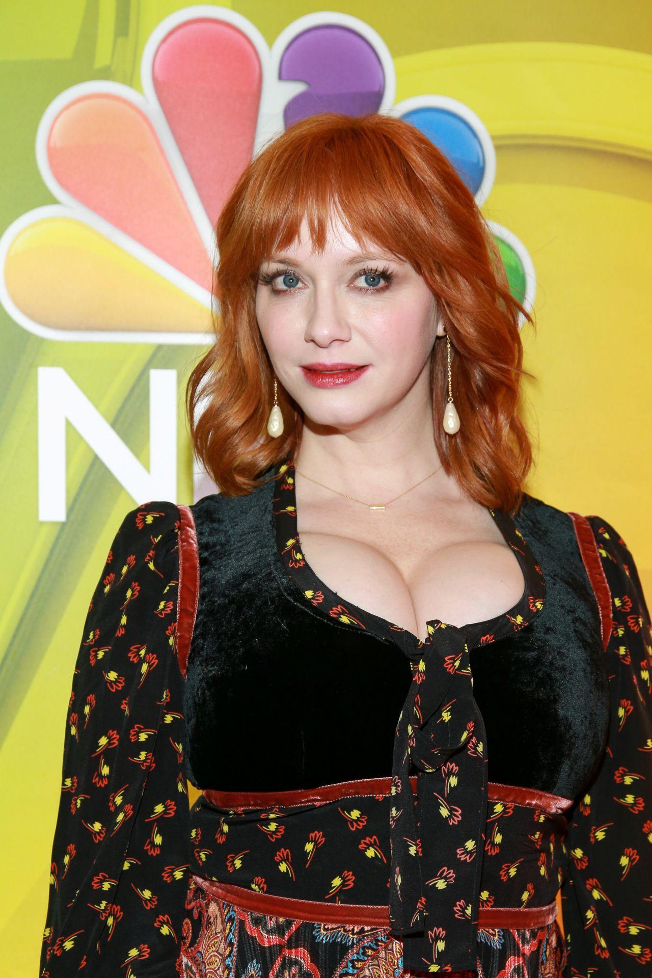 Christina Hendricks - NBC's NY Mid Season Press Junket 01 ...