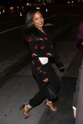Christina Milian Night Out Style - Los Angeles 01/30/2019