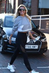 Christine McGuinness and Tanya Bardsley - Out in Wilmslow 01/28/2019