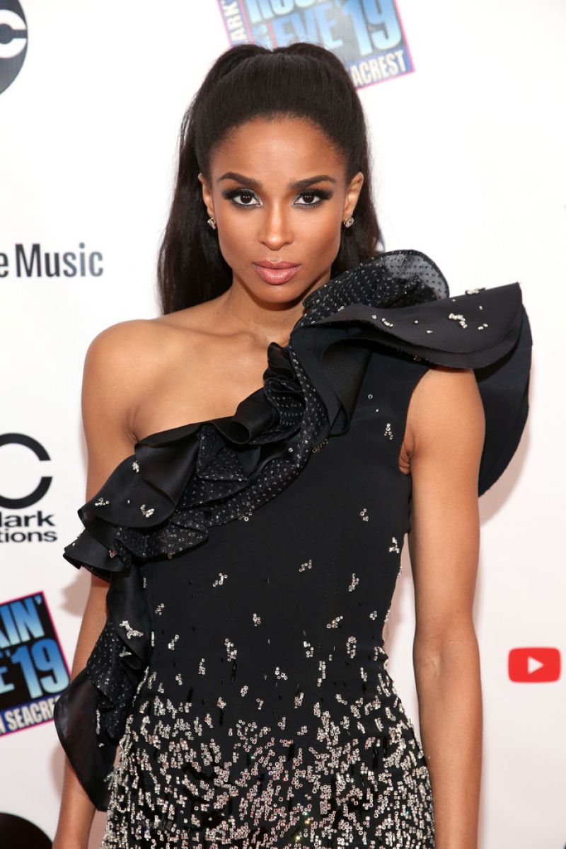 Ciara In Instyle Magazine April 2019 Issue: Dick Clarks New Year's Rockin' Eve 2019 LA Party