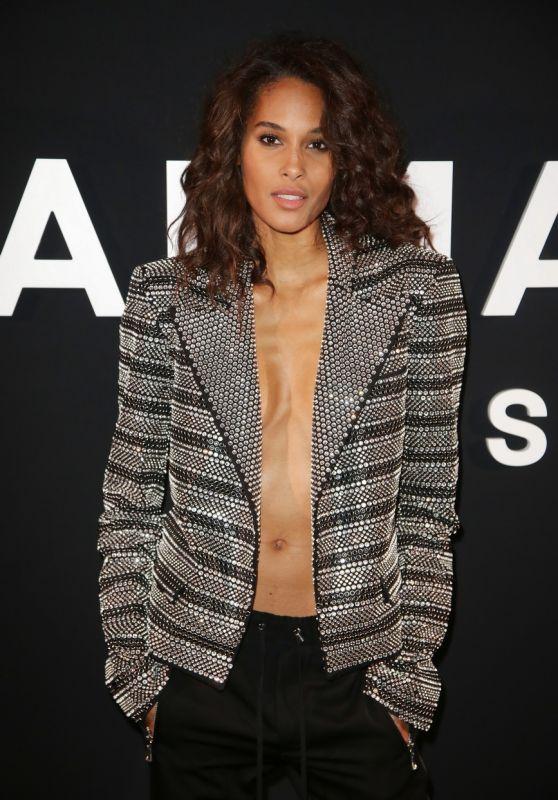 Cindy Bruna - Balmain Menswear Fall/Winter 2019-2020 Show in Paris