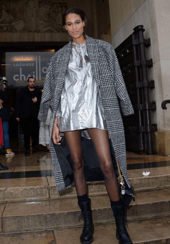 Cindy Bruna – Elie Saab Haute Couture Spring Summer 2019 Show in Paris