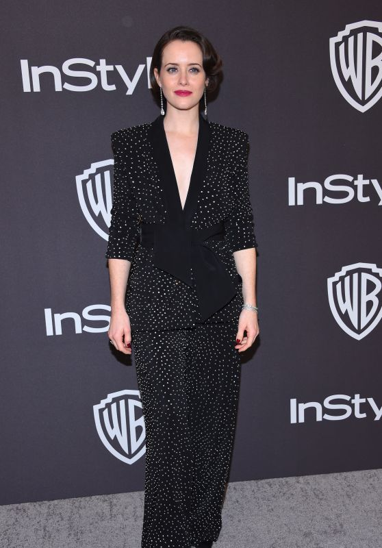Claire Foy – InStyle and Warner Bros Golden Globe 2019 After Party