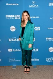 "Clara Rugaard - ""I Am Mother"" Premiere at Sundance Film Festival"