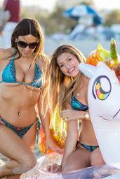 Claudia Romani and Anna Martinez Bikini Photoshoot 01/29/2019