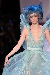 Coco Rocha Walks Jean Paul Gaultier Fashion Show in Paris 07/04/2018