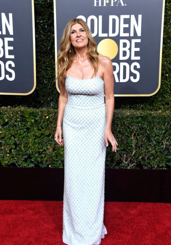 Connie Britton – 2019 Golden Globe Awards Red Carpet