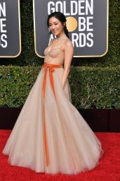 CONSTANCE WU at 2019 Golden Globe Awards in Beverly Hills