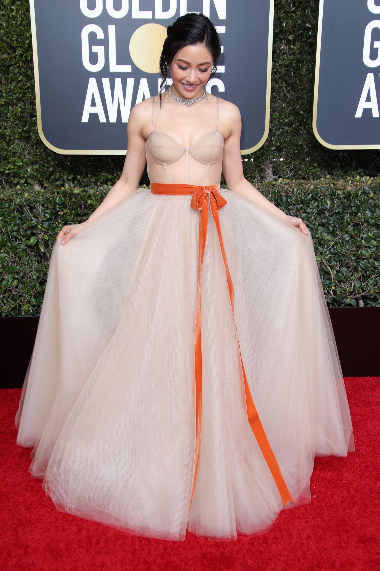Constance Wu - 2019 Golden Globe Awards Red Carpet