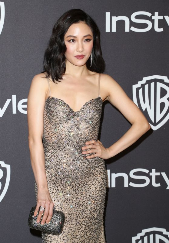 Constance Wu – InStyle and Warner Bros Golden Globe 2019 After Party