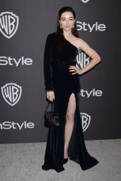 Crystal Reed – InStyle and Warner Bros Golden Globe 2019 After Party