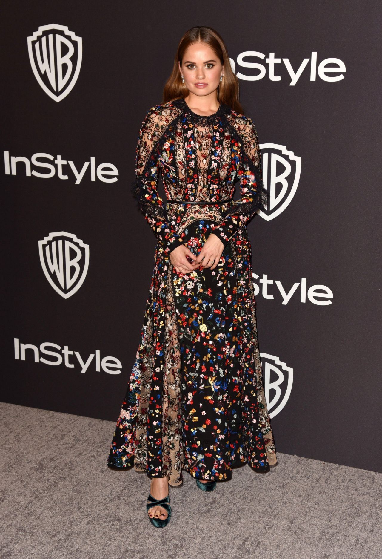 Debby Ryan – InStyle and Warner Bros Golden Globes 2019