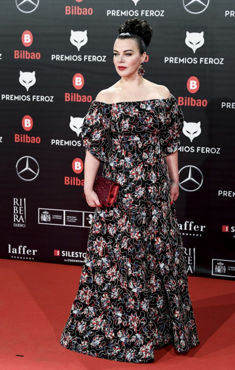 Debi Mazar Feroz Awards 2019 In Bilbao