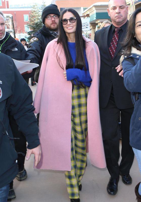 Demi Moore - Sundance Film Festival 01/28/2019