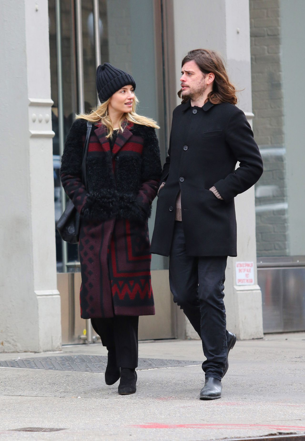 Dianna Agron and Winston Marshall Walk Together in New ...