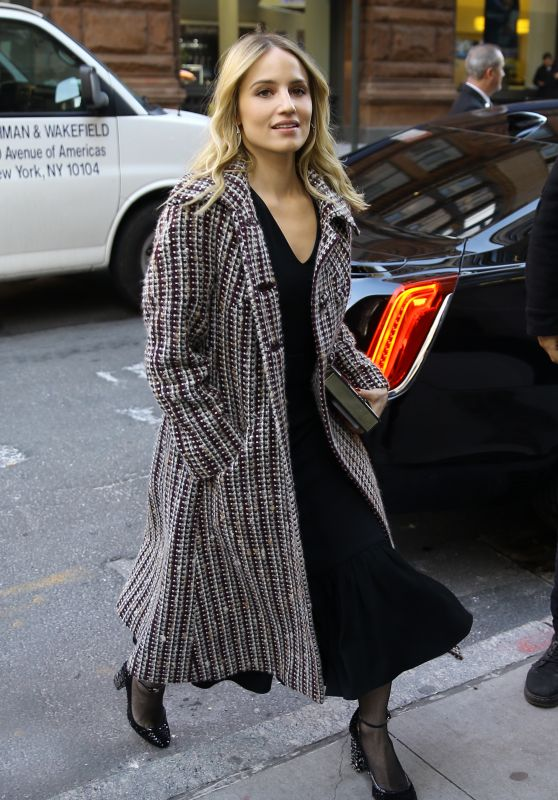 Dianna Agron - Outside BUILD Studio in NYC 01/15/2019