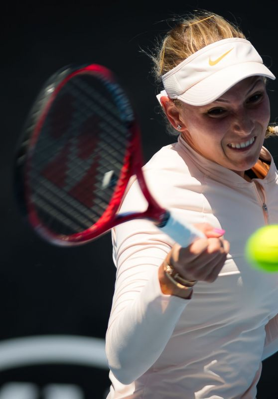 Donna Vekic – Practicing in Melbourne 01/13/2019