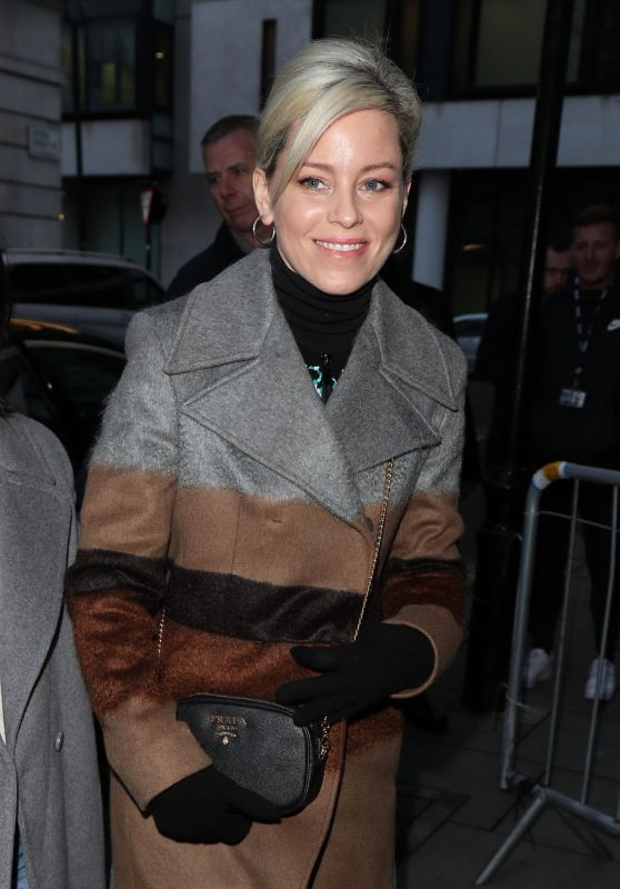 Elizabeth Banks at BBC Radio 2 in London 01/30/2019