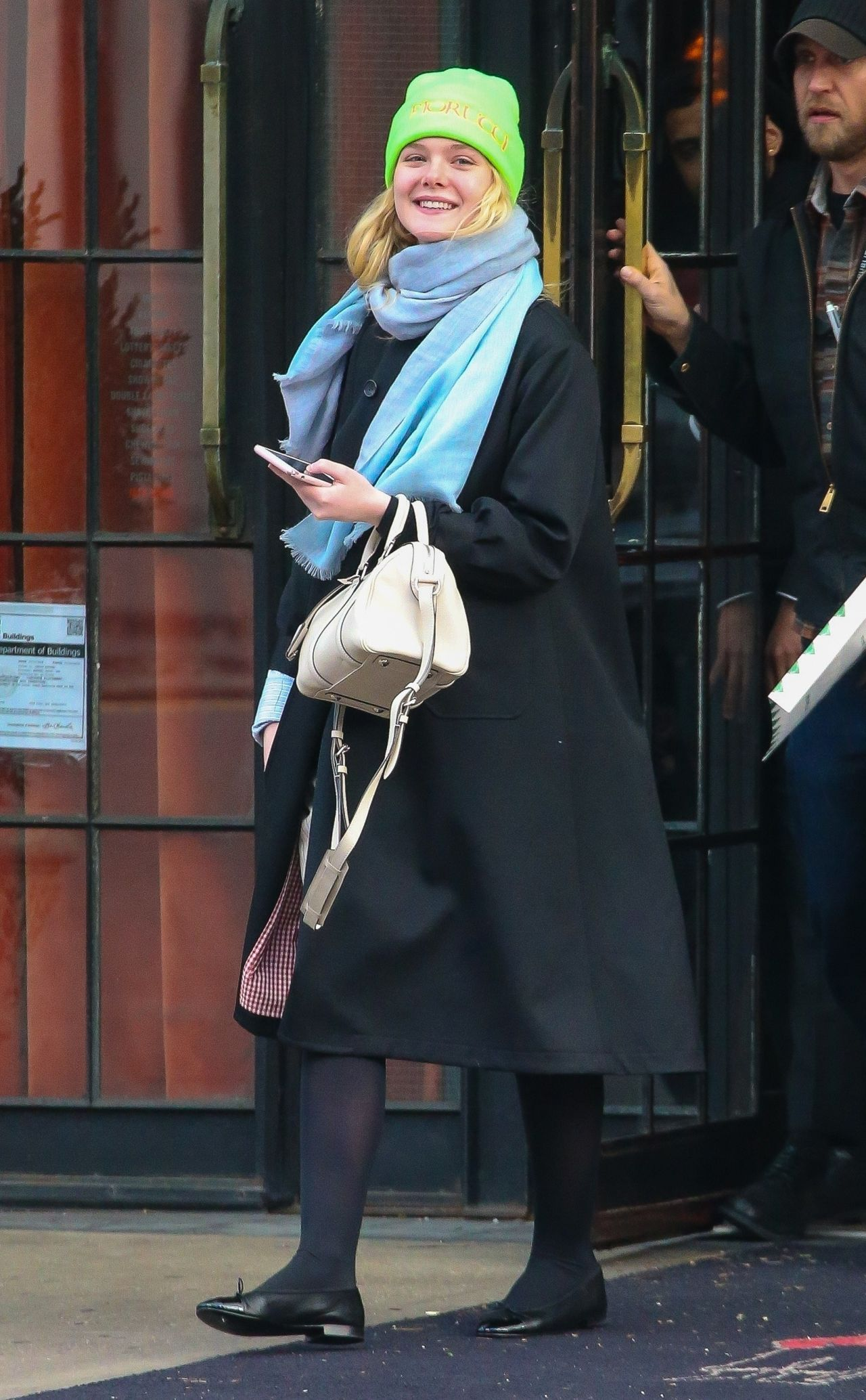 Elle Fanning Downtown Nyc