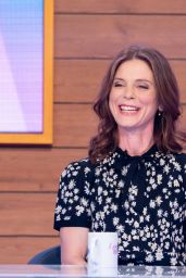 Emilia Fox - Loose Women TV Show 01/21/2019