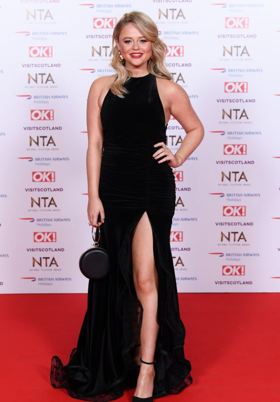 Emily Atack – National Television Awards 2019