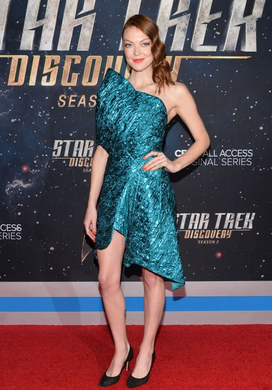"Emily Coutts – ""Star Trek: Discovery"" Season 2 Premiere in NYC"