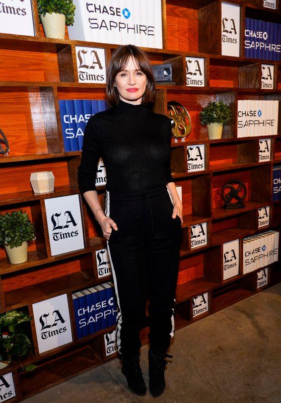 Emily Mortimer - LA Times Photo Studio in Park City 01/25/2019
