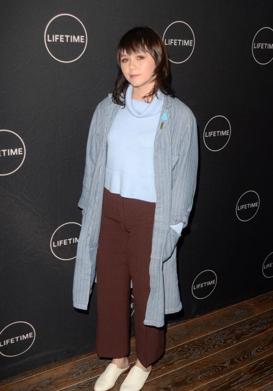 Emily Skeggs - Lifetime Winter Movies Mixer in Los Angeles 01/09/2019