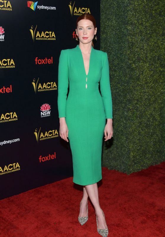 Emma Booth – 2018 AACTA International Awards