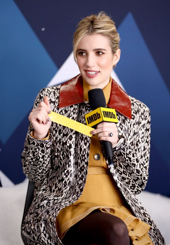Emma Roberts - The IMDb Studio at The 2019 Sundance Film Festival