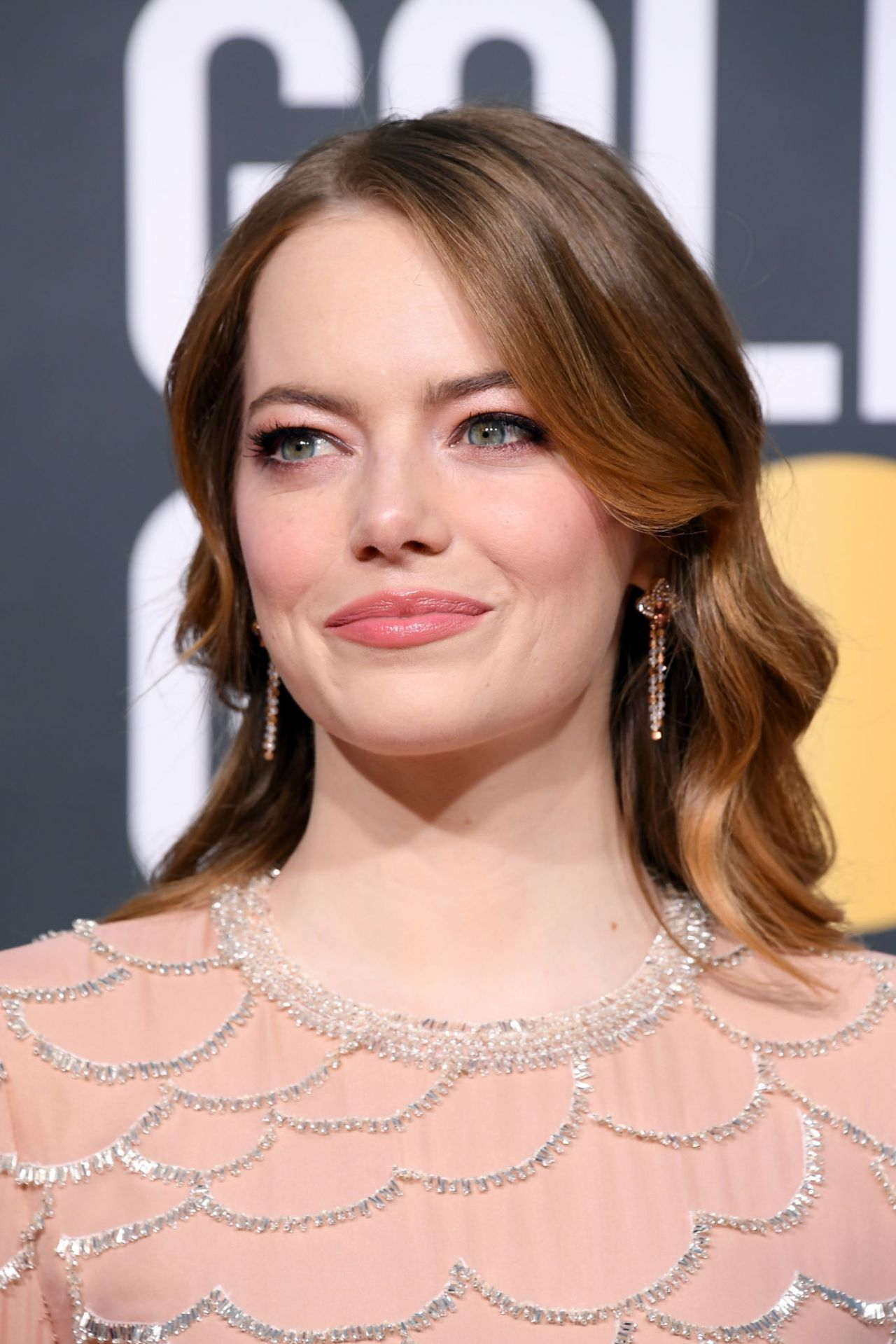 Emma Stone – 2019 Golden Globe Awards Red Carpet Emma Stone Golden Globes