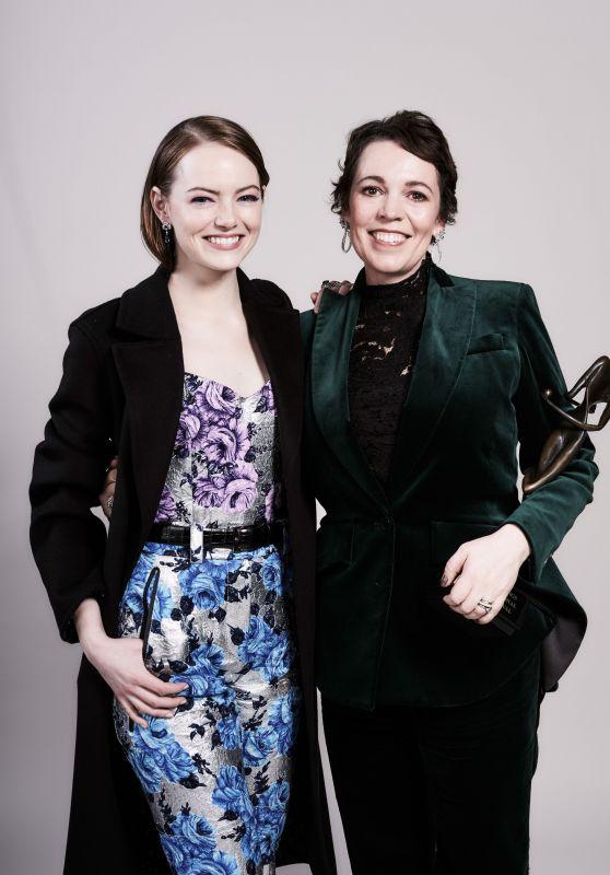 Emma Stone and Olivia Colman - Portraits for 30th Annual Palm IFFA Gala, January 2019