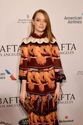 Emma Stone – BAFTA Tea Party in LA 01/05/2019