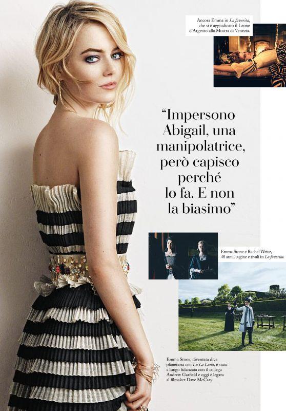 Emma Stone - Io Donna del Corriere Della Sera 01/19/2019