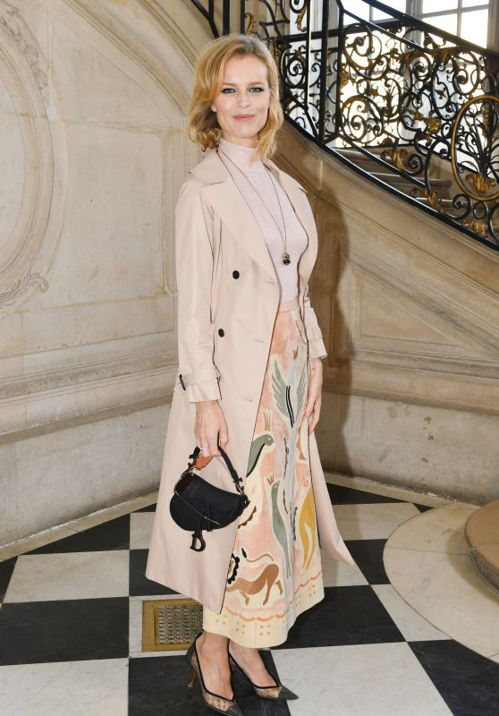Eva Herzigova – Christian Dior Haute Couture Spring Summer 2019 Show in Paris