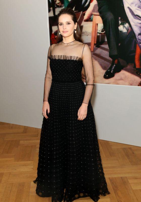 "Felicity Jones – ""Christian Dior: Designer of Dreams"" Exhibition at The V&A in London"