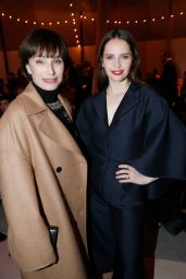 Felicity Jones – Christian Dior Show in Paris 01/21/2019
