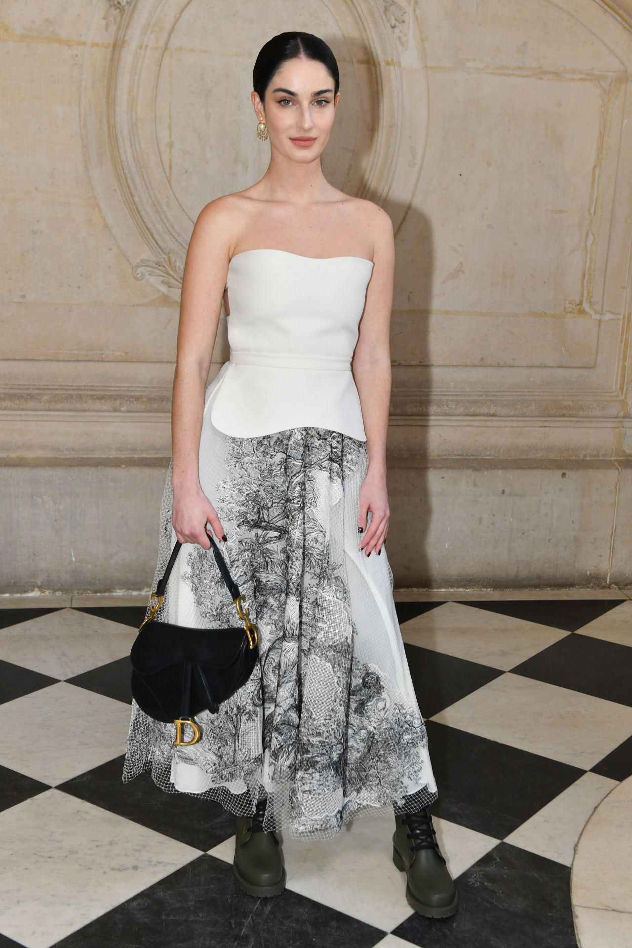 9aed57fb Fiona Zanetti – Christian Dior Haute Couture Spring Summer 2019 Show in  Paris