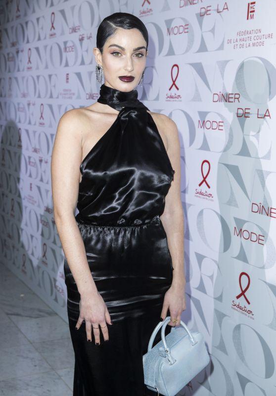 """Fiona Zanetti – """"Diner De La Mode"""" at Paris Fashion Week 01/24/2019"""